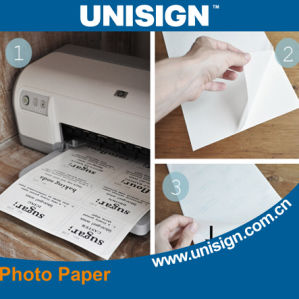 Glossy Coated Inkjet Photo Paper with Excellent High Quality pictures & photos