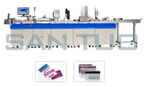 Santuo Magnetic Card Encoding and UV Printing Equipment pictures & photos
