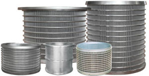 Stainless Steel Wedge Wire Filter Screen Basket for Water Treatment pictures & photos