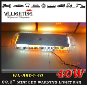 12V-24V Magnetic 40 LED Warning Mini Light Bar pictures & photos