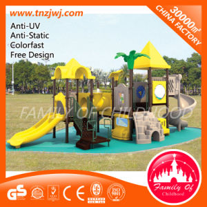 Free Design Plastic Slide Outdoor Playground Equipment in Guangzhou pictures & photos