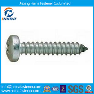 DIN7981/GB845 Steel Pozidriv Pan Head Self Tapping Screw pictures & photos