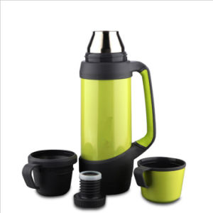 1.2L 18/8 Stainless Steel Thermos Vacuum Flask with Two Lids pictures & photos