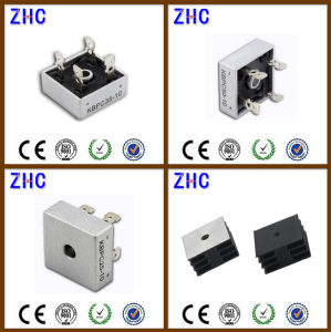Factory Price List of Kbpc 10 AMP to 50 AMP Single Phase Bridge Rectifier pictures & photos