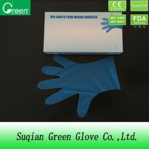 Blue Laboratory Soft TPE Glove pictures & photos