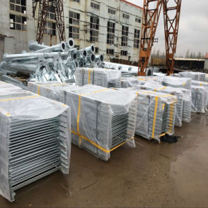 Hot DIP Galvanized Pedestrian Barrier Exported to USA pictures & photos