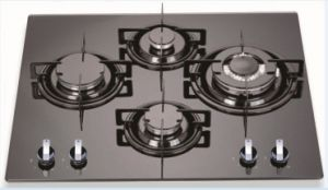 Gas Hob with Aluminum Burners