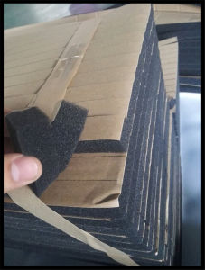 Wholesale Price Fireproof Closed Cell NBR Cr EPDM SBR PVC Foam Rubber Seal Strip pictures & photos