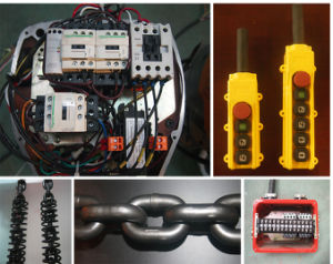 Special Design for Limit Space 3t Electric Chain Hoist with Low Headroom pictures & photos