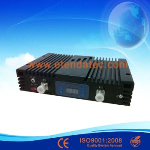 23dBm 75dB Dcs+WCDMA RF Mobile Signal Amplifier with Digital Display pictures & photos