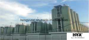 FRP Tank on Site for Organic Acid pictures & photos