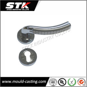 Customized Zinc Die Casting with Chrome Plating Safe Lock (STK-ZDL0015) pictures & photos