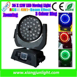 36X12W LED Moving Head Zoom Light pictures & photos