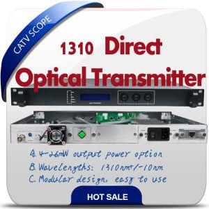 CATV Dual Module Optic Transmitter Analog & Digital TV Transmitter pictures & photos