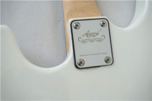 Aiersi Cheap Solid Body St Style Colour Electric Guitar with BV/SGS Certificate pictures & photos