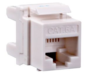 High Quality Unshielded CAT6A Keystone pictures & photos
