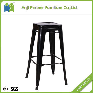 Unique Design Strongly Chair 4 Legs Metal Bar Stool (Fengshen) pictures & photos