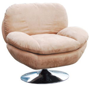 Hot Selling Lounge Living Room Reception Single Leather Sofa (FS-632) pictures & photos