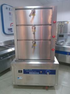 380V Stainless Steel Multi-Functional Commercial Induction Steamer pictures & photos