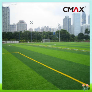Outdoor Green Soccer Artificial Natural Fake Grass Lawns Recycled Eco Friendly pictures & photos