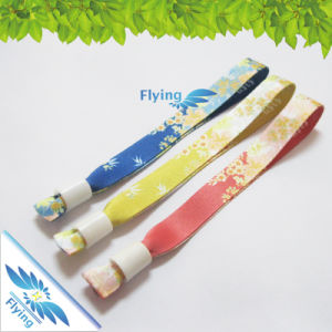 Free Bands Samples Custom Heat Transfer Promotion Wristbands with Plastic Bead