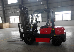 25000kgs Four Wheels Electric Counterbalanced Forklift pictures & photos
