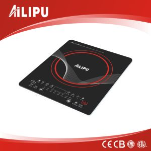 Top Quality Ultra Slim Induction Cooker with Crystal Glass pictures & photos
