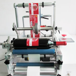 High Precision Semi-Automatic Red Wine Labeling Machine pictures & photos