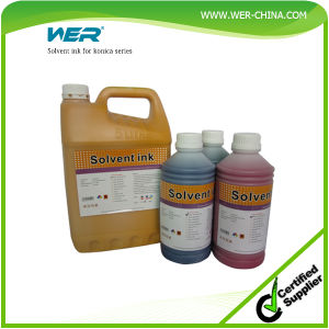 Fast Setting and Low Price Wer Series Discount Solvent Ink pictures & photos