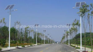80W Solar Street Lighting with 8m High Pole