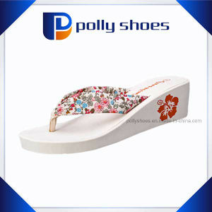 Wedges Sandals Wholesale Design Women High Heel Flip Flop pictures & photos