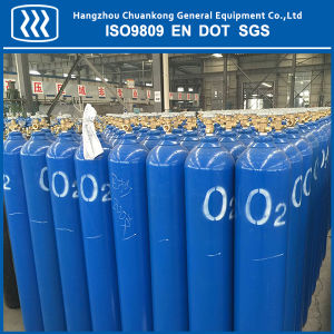 Seamless Steel Nitrogen CO2 Oxygen Argon Gas Cylinder pictures & photos