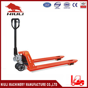 Niuli AC Hydraulic Hand Pallet Truck with Ce pictures & photos