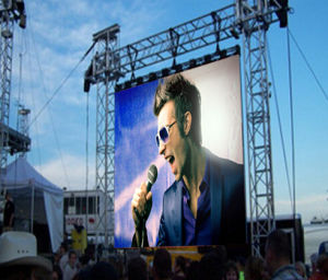 P10 Outdoor Full Color Pantallas LED Display, Display Electronicos pictures & photos