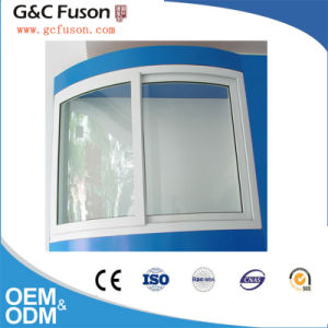 Different Wooden Color Surface Finshed Aluminium Sliding Windows Manufacturer in Guangzhou pictures & photos