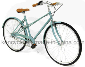 "28"" Vintage Ladies Old City Bicycle Fashion 3 Speed Pedal Brake City Lady Bicycle pictures & photos"