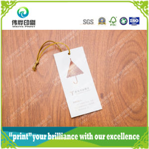 Printing Paper Eco-Freindly Paper Printing Hang Tag pictures & photos