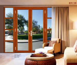 Double Glazing Aluminium Sliding Door pictures & photos