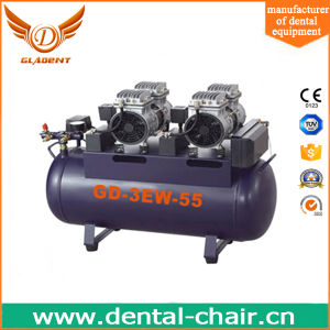 Confident Dental Air Compressor Price Used for Three Chairs pictures & photos