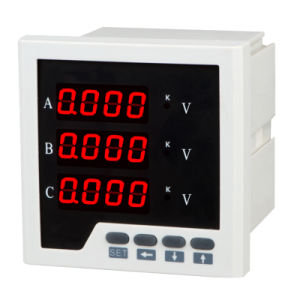 Three Phase Digital Display LED Voltage Meter Voltmeter pictures & photos