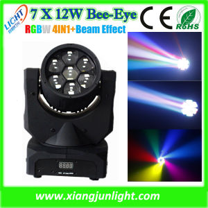 7X12W 4in1 Mini LED Moving Head RGBW Wash pictures & photos