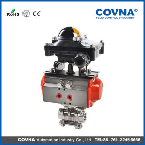 Pneumatic Ball Valve with Limited Switch