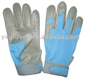 PU Glove-Women Glove-Hand Glove-Cotton Glove-Safety Gloves-Work Gloves pictures & photos