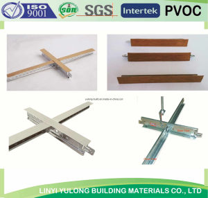 Suspened Ceiling T-Grid Decoration Material pictures & photos