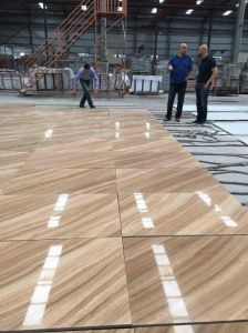 White/Beige/Black/Brown/Golden/Yellow Wooden Marble Floor Tile for Hospitality Renovation pictures & photos