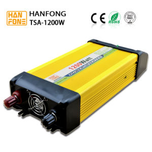 1200 Watt DC to AC Inverter with Dual Socket (TSA1200) pictures & photos