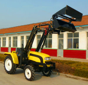 Popular Foton 35HP 4WD Tractor with 4 in 1 Front End Loader pictures & photos