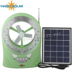 Low Price and High Quality Portable Solar LED Rechargeable Camping Lantern Light for Africa pictures & photos