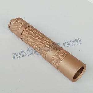 Precision Machining Aluminum End Cap for LED Torch pictures & photos