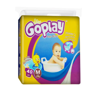 Disposable Diaper with Soft Cotton Surface (M)
